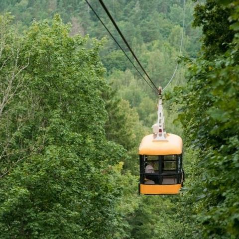Гонки и полёты в Видземской Швейцарии