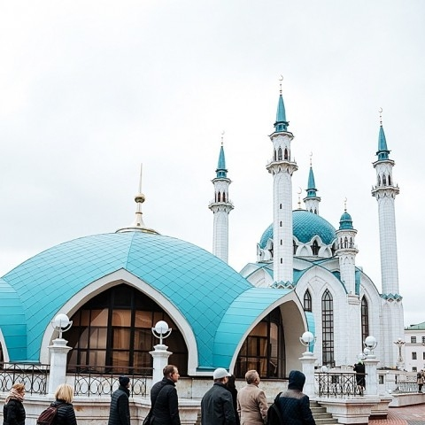 Incentive tour to Kazan