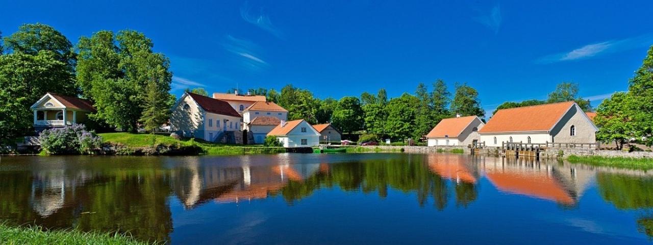 Charm of Estonian manor