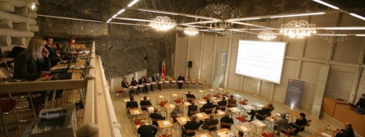 Conferences or training sessions in Salt Mine