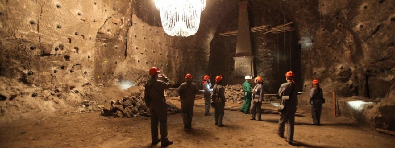 Тематические программы в Соляных Пещерах