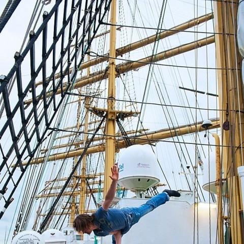 Туристическая программа в Гданьске для участников экспедиции барка Крузенштерн.