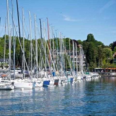 Конференция в Женеве и парусная регата на Женевском озере